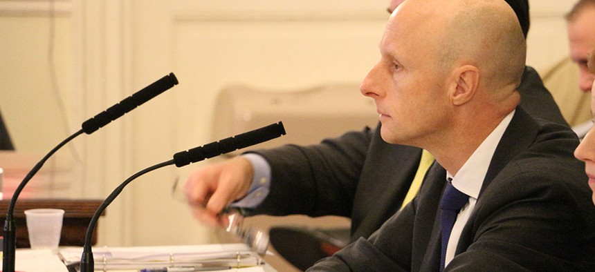 Is NYC Transit President Andy Byford in or out?