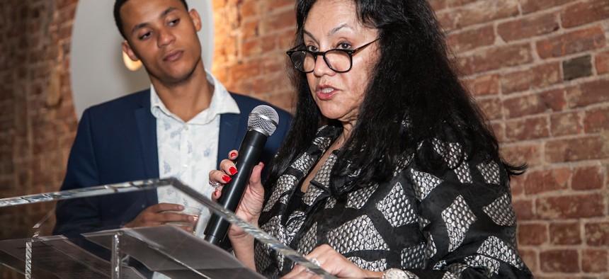 Interim Education Commissioner Betty Rosa