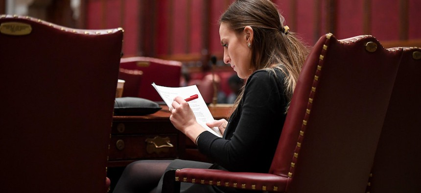 State Senator Alessandra Biaggi was one of the lawmakers to call for a halt in evictions.