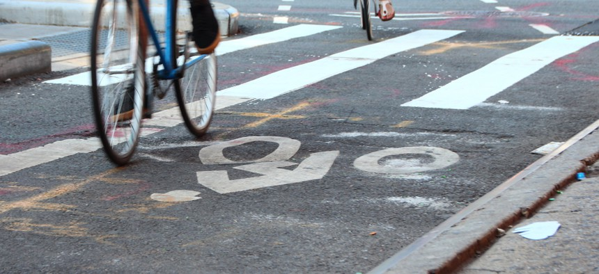 A 2011 New York City law requires consultation with community boards before new bike lanes are installed.