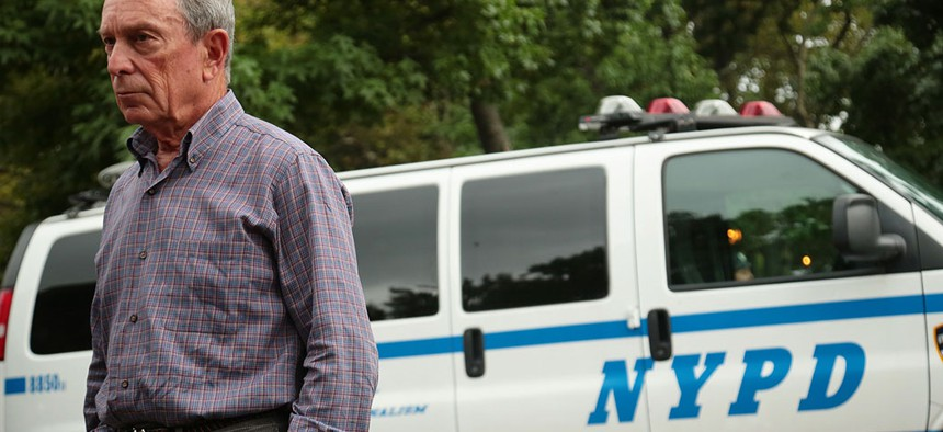 Former New York City Mayor Michael Bloomberg in 2013.