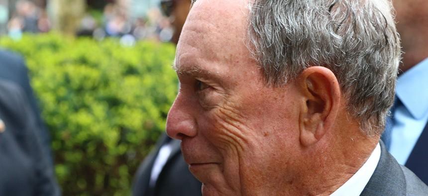 Former New York City Mayor Michael Bloomberg.