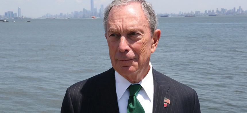 Mayor Michael Bloomberg in 2013.