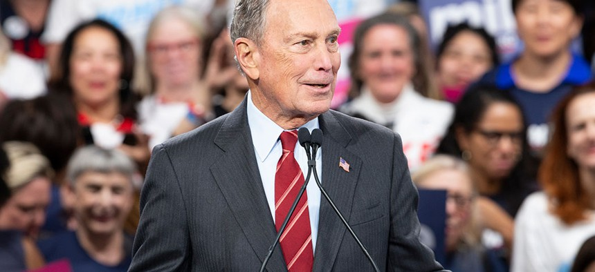 Michael Bloomberg in January, 2020.