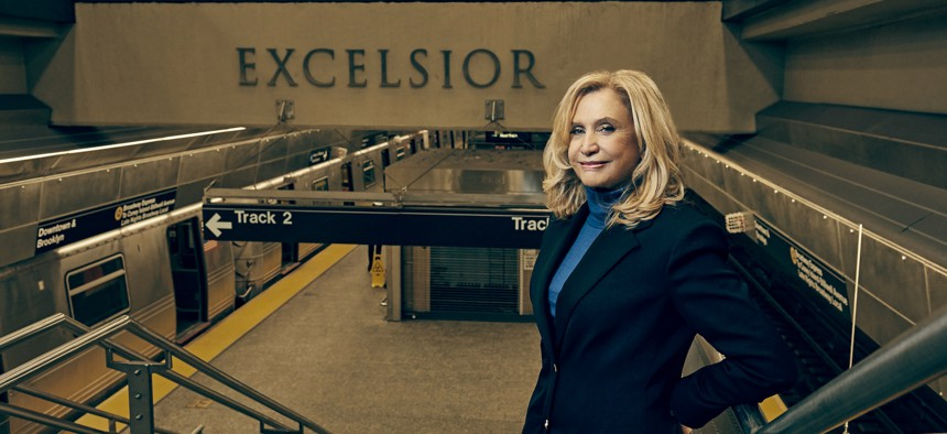 Career politicians all around have been sent packing but Carolyn Maloney says she isn't going anywhere.