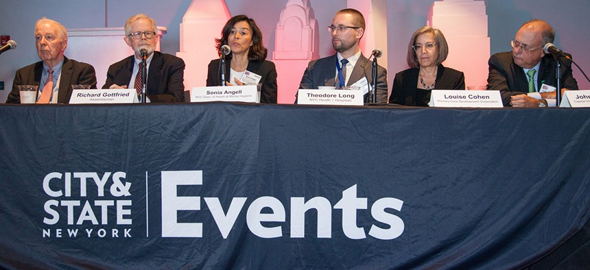 Officials at City & State's Health and Wellness summit discussed issues including lead poisoning, legalized marijuana and Lyme disease.