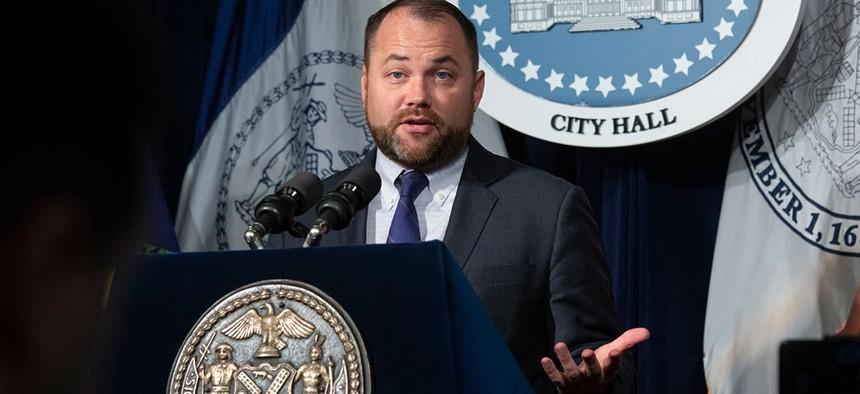 New York City Council Speaker Corey Johnson.