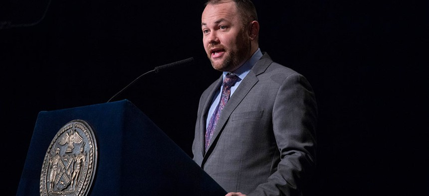 Speaker Corey Johnson delivers 2019 State Of The City address.
