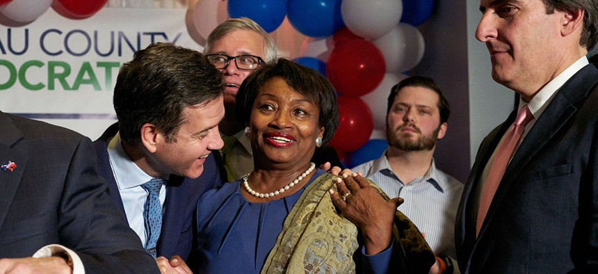 """Incoming state Senate Majority Leader Andrea Stewart-Cousins has indicated that she intends to keep the """"millionaire's"""" tax in place."""
