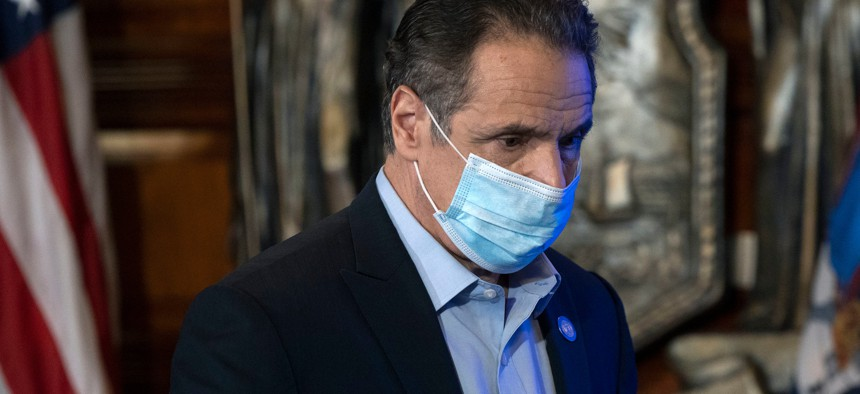 A new year has already featured more than a few setbacks for Gov. Andrew Cuomo.