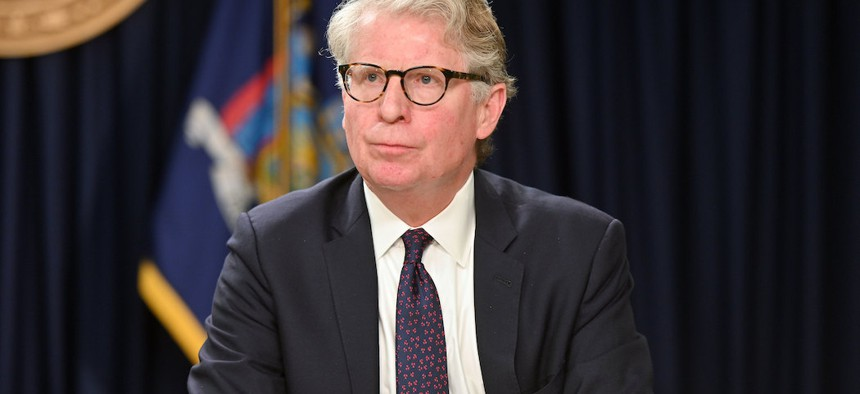 Current Manhattan District Attorney Cyrus Vance.