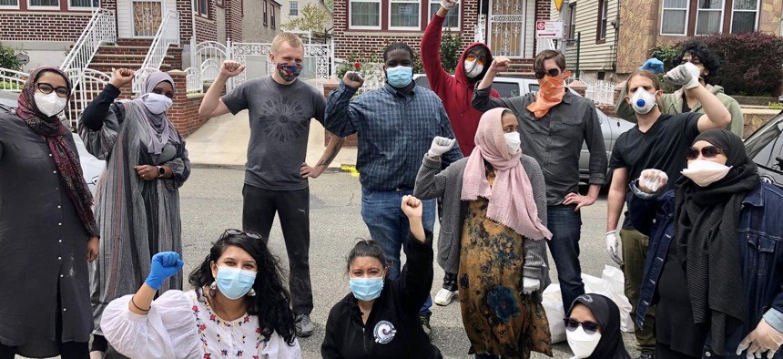 Dozens of informal volunteer groups have been set up to help neighbors in need since the onset of the COVID-19 pandemic