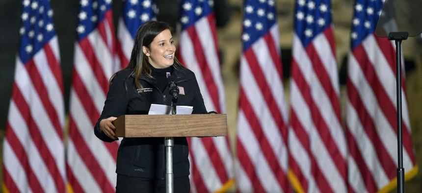 Rep. Elise Stefanik on Jan. 17, 2021.