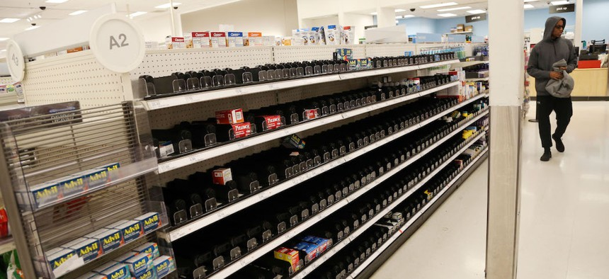 Americans are emptying the shelves of painkillers during the COVID-19 crisis.