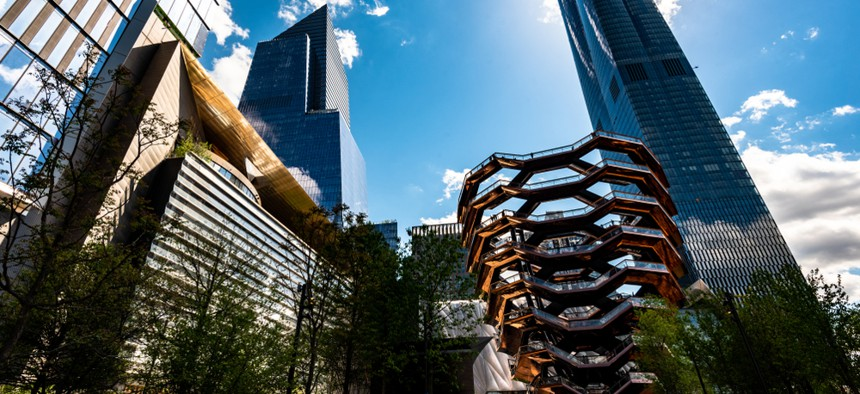 Amazon will be leasing 335,000 square feet of space in the Hudson Yards neighborhood.