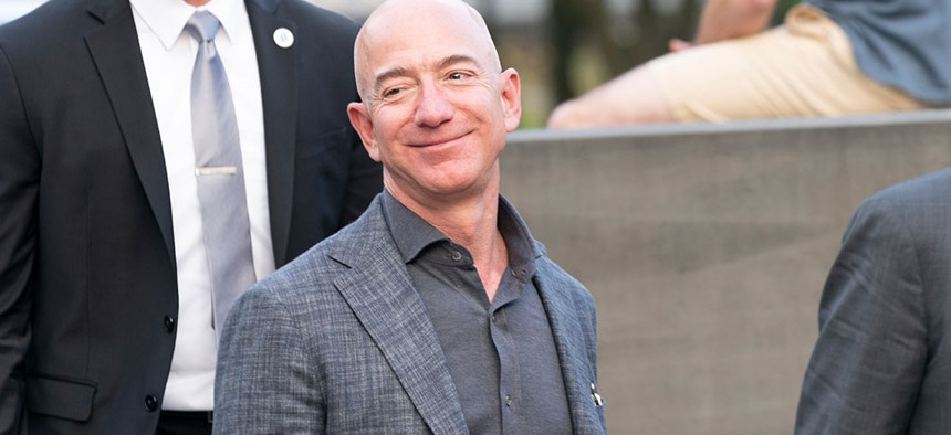 Founder, CEO and Amazon president Jeff Bezos – one of New York's least powerful people.