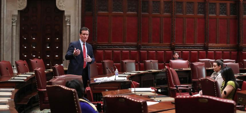 Retiring State Senate Minority Leader John Flanagan.