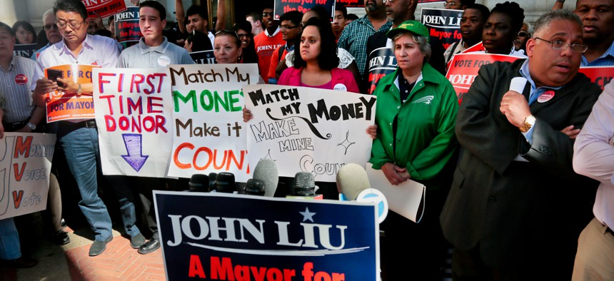John Liu had been ensnared in a straw-donor scandal that led to the convictions of his campaign treasurer and fundraiser when he ran for mayor in 2013.