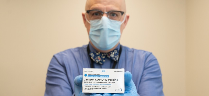 The Johnson & Johnson vaccine has made it to New York.