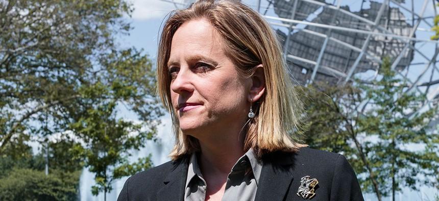 Queens Borough President and Queens District Attorney candidate Melinda Katz.