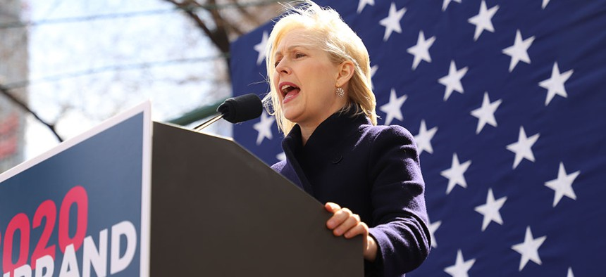 Sen. Kirsten Gillibrand launching her 2020 presidential campaign.