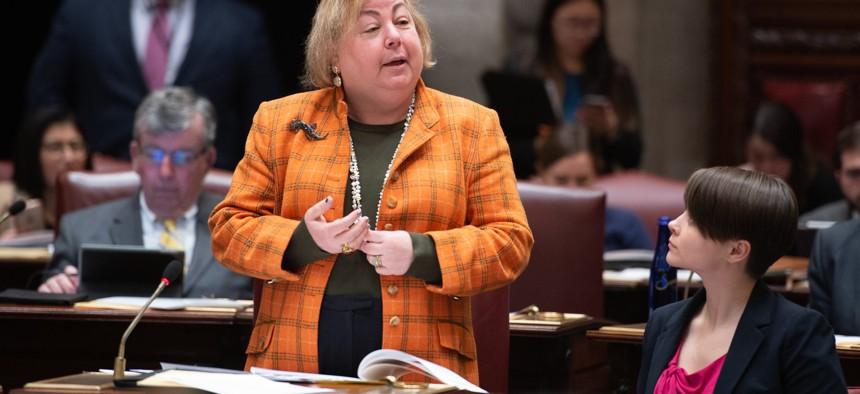 State Sen. Liz Krueger
