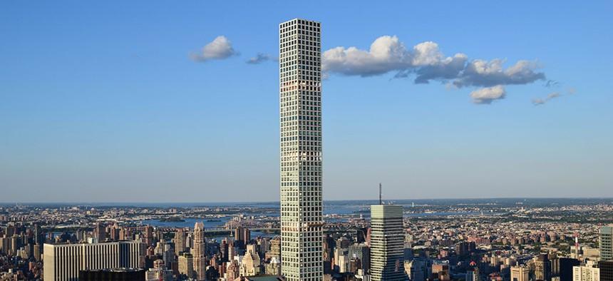 The luxurious 432 Park Avenue condominiums in Manhattan.