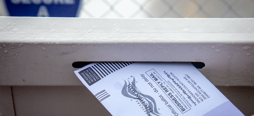 The New York City Board of Elections is officially moving ahead with a plan to send new absentee ballot packages to about 100,000 voters in Brooklyn.