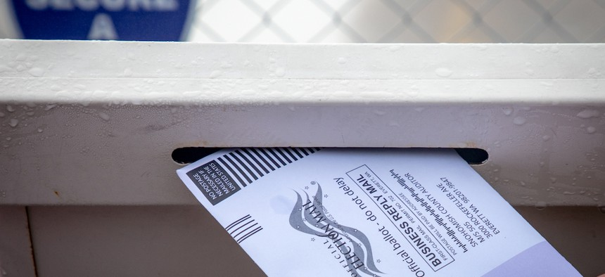 Absentee voting could be the new normal as the coronavirus rages on.