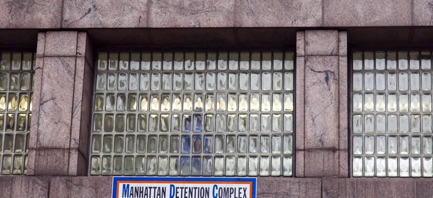 The Manhattan Detention complex on White Street.