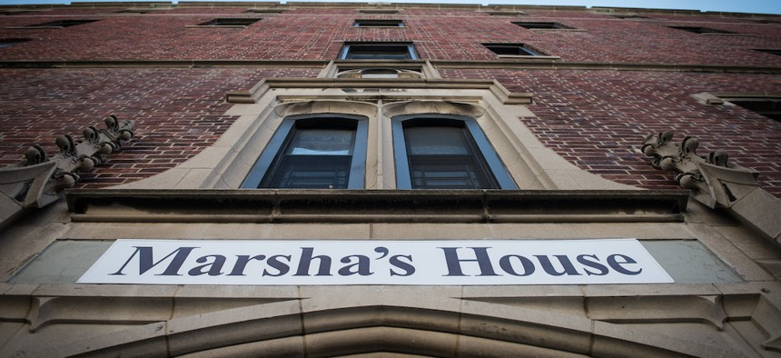 Marsha's House, a shelter for LGBTQ youth in the Bronx.