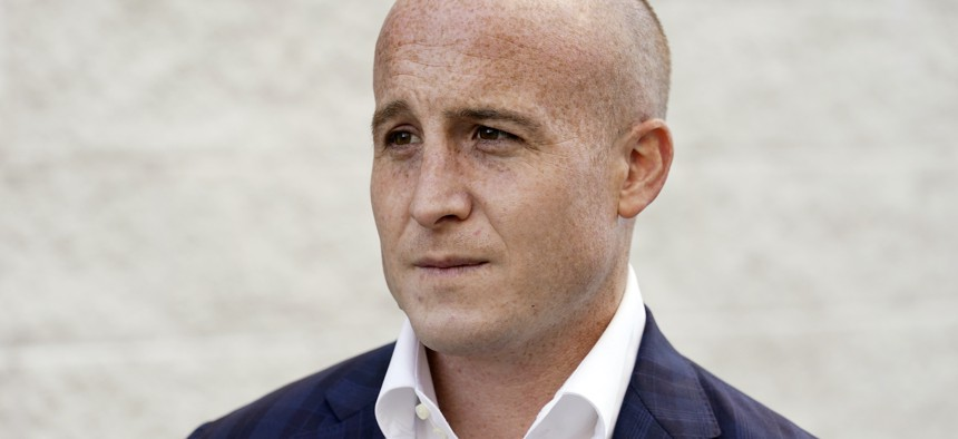 Rep. Max Rose, projected to lose to Assembly Member Nicole Malliotakis.