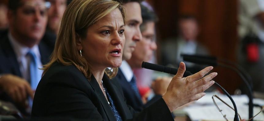Former New York City Council Speaker Melissa Mark-Viverito