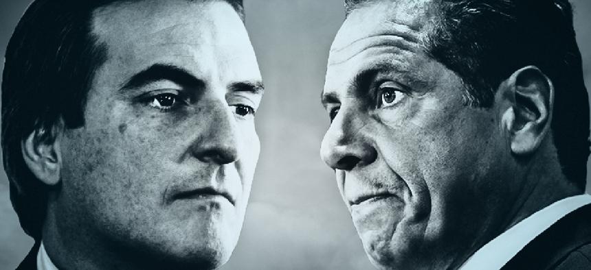 Michael Gianaris faces off against Andrew Cuomo