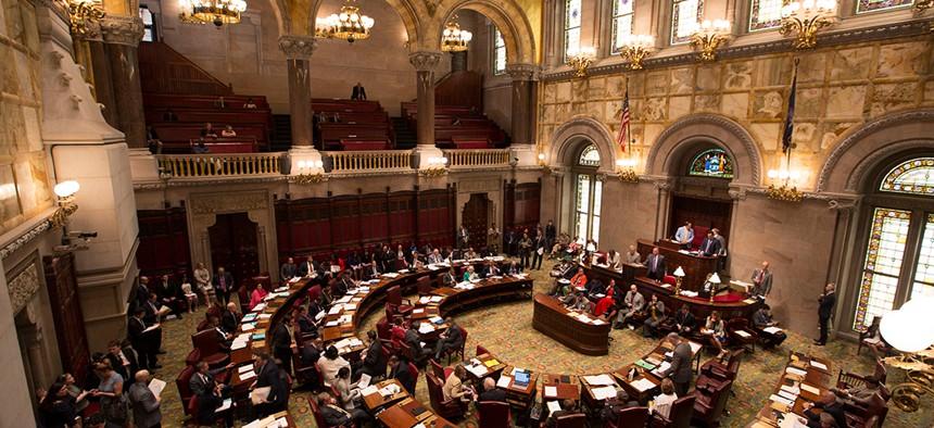 The New York State Senate.