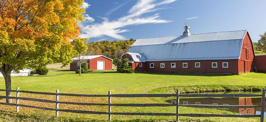 A farm located in New York's Catskills.