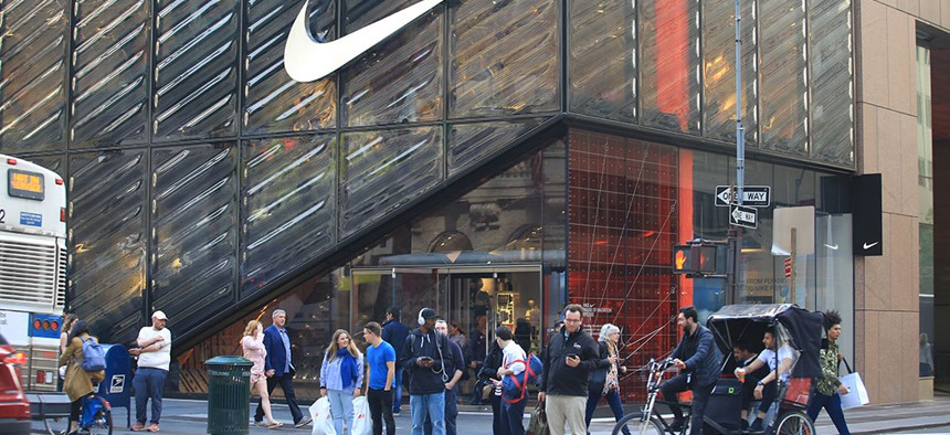 Nike's flagship store in New York.