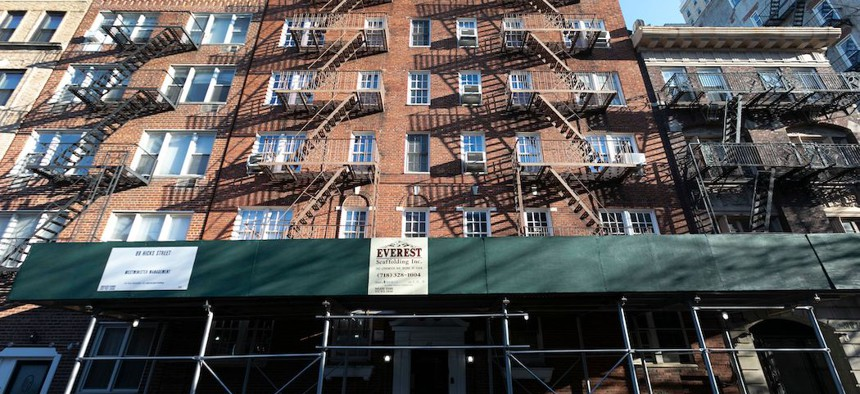 Lawmakers and housing advocates are calling for rent cancelation in New York.