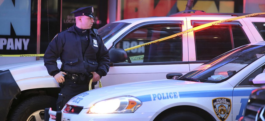 Roughly 318 murders occurred in New York City in 2019.