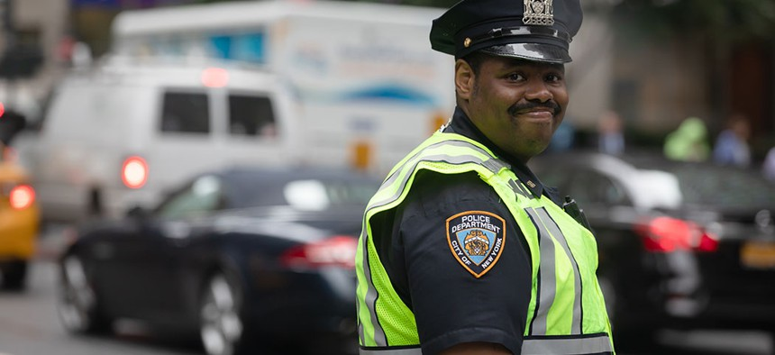 NYPD officer.