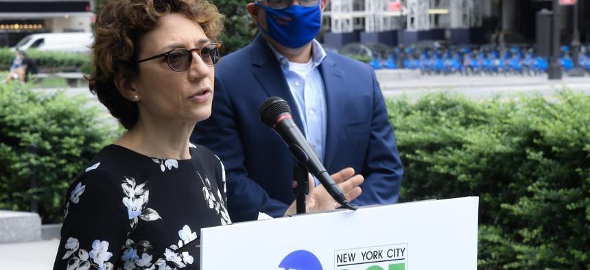 Incoming deputy secretary of the U.S. Department of Transportation Polly Trottenberg.
