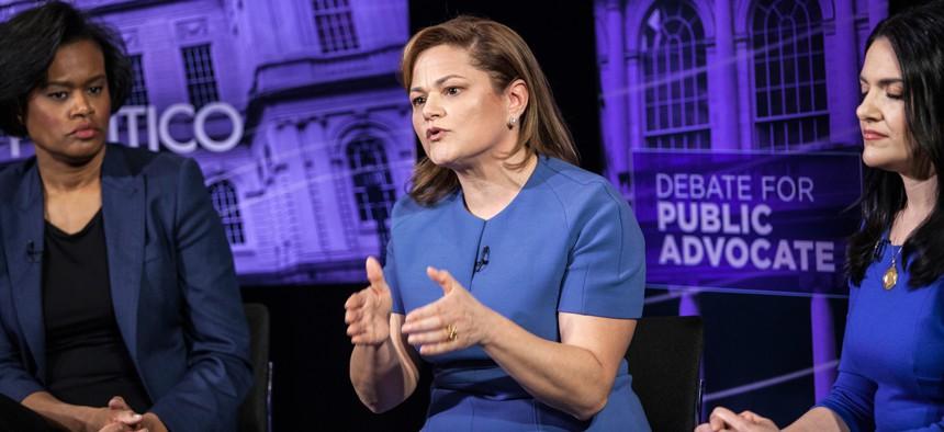 Melissa Mark Viverito public advocate debate
