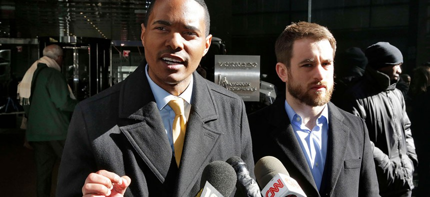 Ritchie Torres and Aaron Carr called for an investigation into a report by AP that suggested Jared Kushner's family real estate company routinely filed false paperwork declaring it had zero rent-regulated tenants in March, 2018.