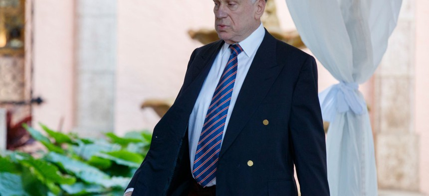 Republican donor and and World Jewish Congress President Ronald Lauder at Mar-a-Lago.
