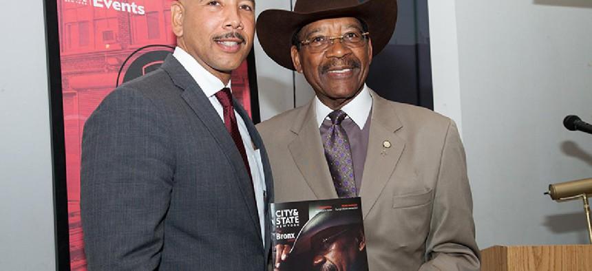 Rubén Díaz Jr. and Rubén Díaz Sr.