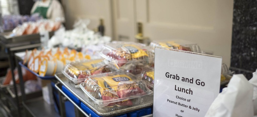 In an effort to help students during the COVID-19 crisis students can pick up food at NYC schools this week.