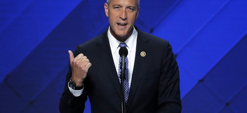 Rep. Sean Patrick Maloney speaks during the final day of the Democratic National Convention in Philadelphia
