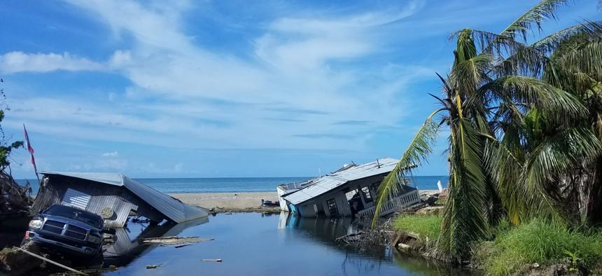 Puerto Rico storm damage