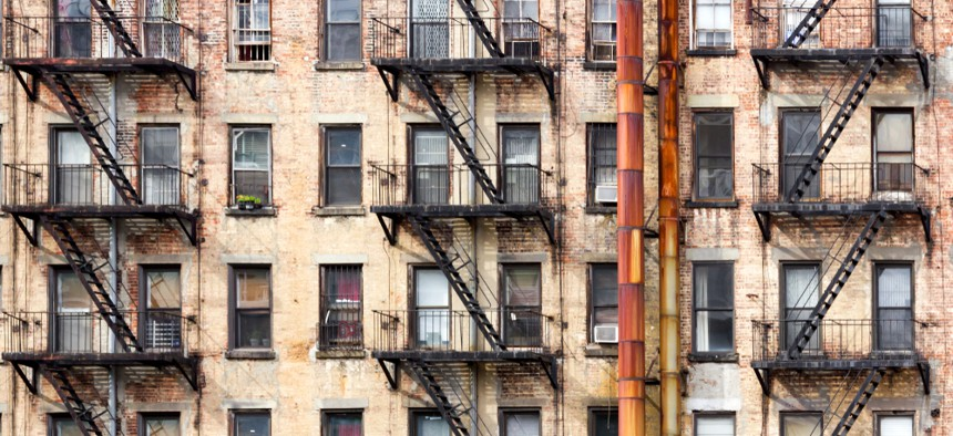 Old NYC apartment building