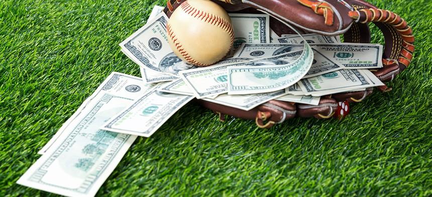 Money in a baseball glove new york sports betting